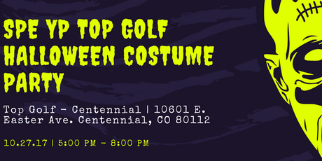 spe yp top golf halloween costume party tickets - Halloween Colorado 2017
