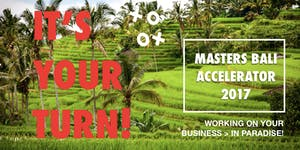 Masters Bali Accelerator #business-school-bali-2017