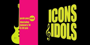 Grab Your Seat Concert Icons Amp