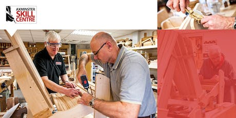 Axminster SC - Adirondack Chair Making Course  tickets