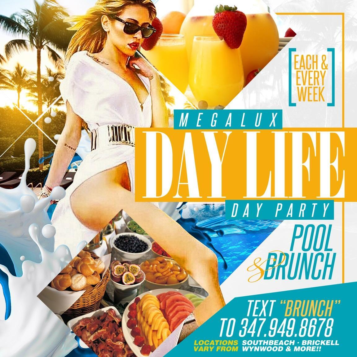 South Beach Brunch and Pool Party. South Beach Brunch and Pool Party