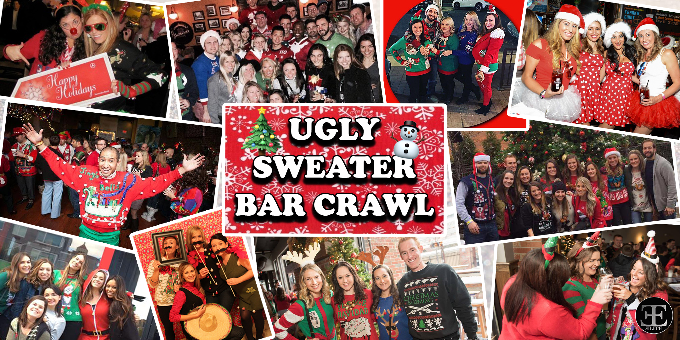 Ugly Sweater Bar Crawl -New York, NY