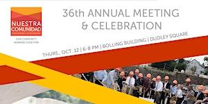 36th Annual Meeting & Celebration