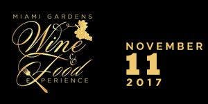 3rd Annual Miami Gardens Wine & Food Experience ft/...