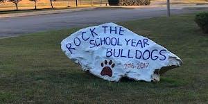 Rocky Run PTO  Bulldog Pride Rock