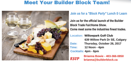 Builder Block Trade Fair Home Show Tickets
