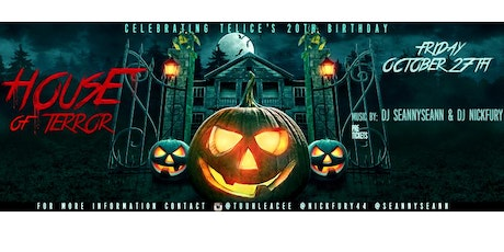 house of terror halloween party tickets - Halloween Bay Area Events
