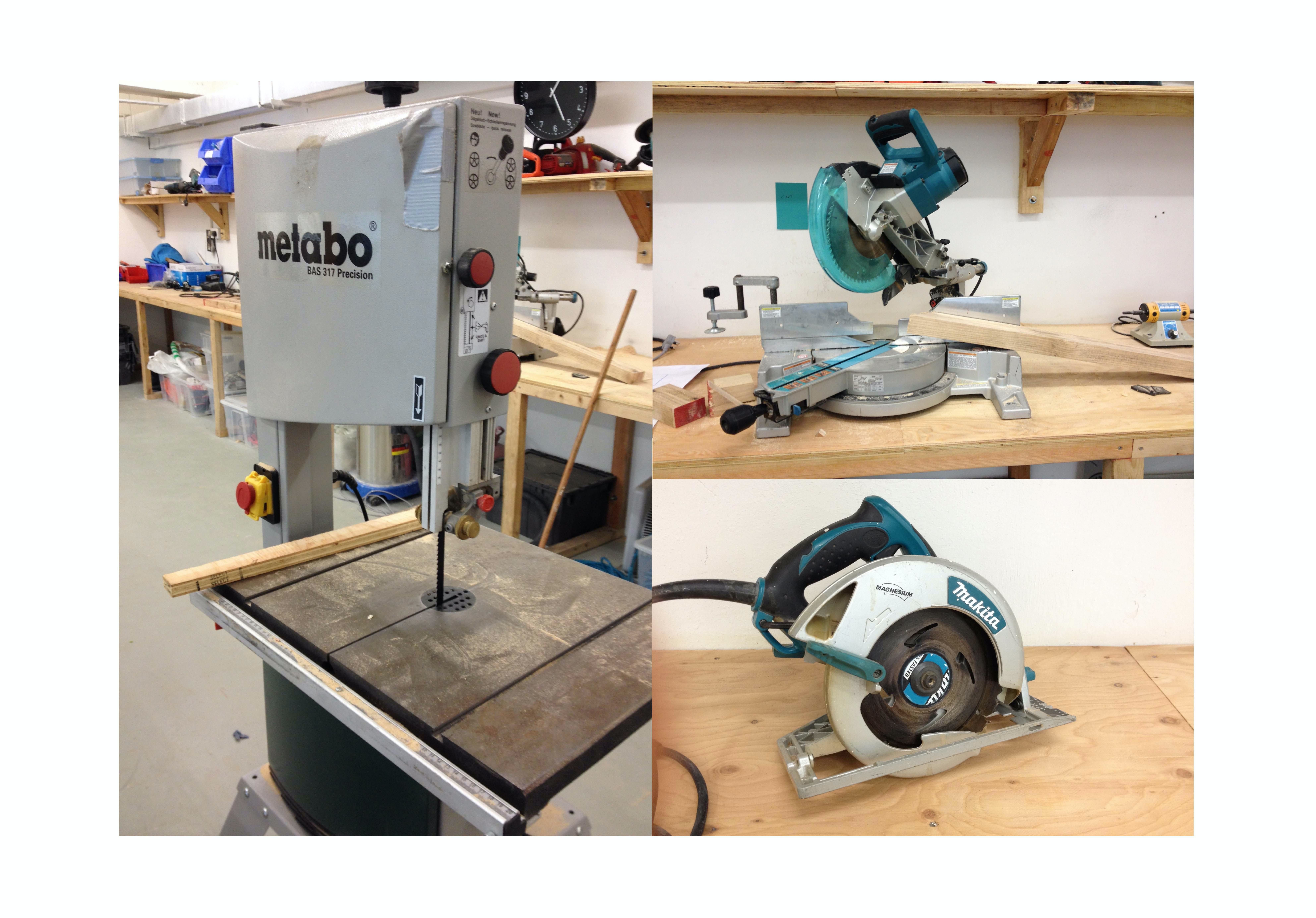 Woodwork Induction Class (Machine Operation and Safety)