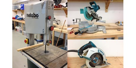 Woodwork Induction Class (Machine Operation and Safety) tickets