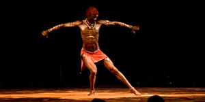 Workshop di danza Masai con  Fernando Anuang'a