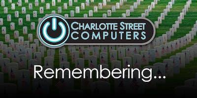 Memorial Day - CLOSED