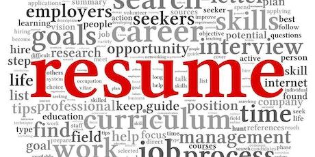free job readiness resume 101 october daytime tickets