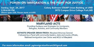 Forum on Immigration and the Fight for Justice