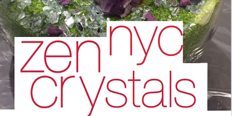NYC Terrarium Class- Zen Crystal @ Doing Living on Saturday- Nov 18th- 12