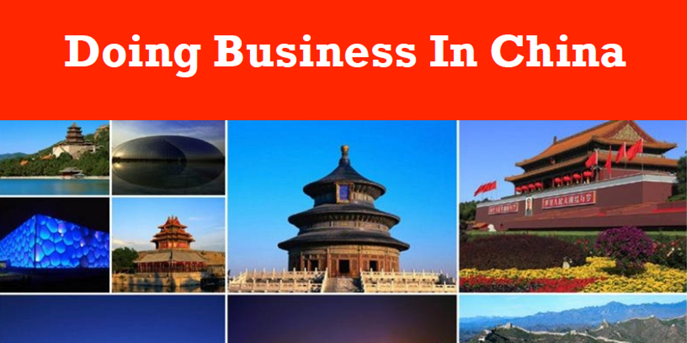 do business in china Toeing the line on taiwan is just one of the demands western companies face in china.