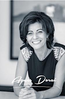 Agnes DORAI, formatrice, conférencière, Coach professionnel certifiée PCC, ICF. Expert en stratégie de développement et performance, Spécialiste dans l'accompagnement du changement des dirigeants PME et des individus. logo