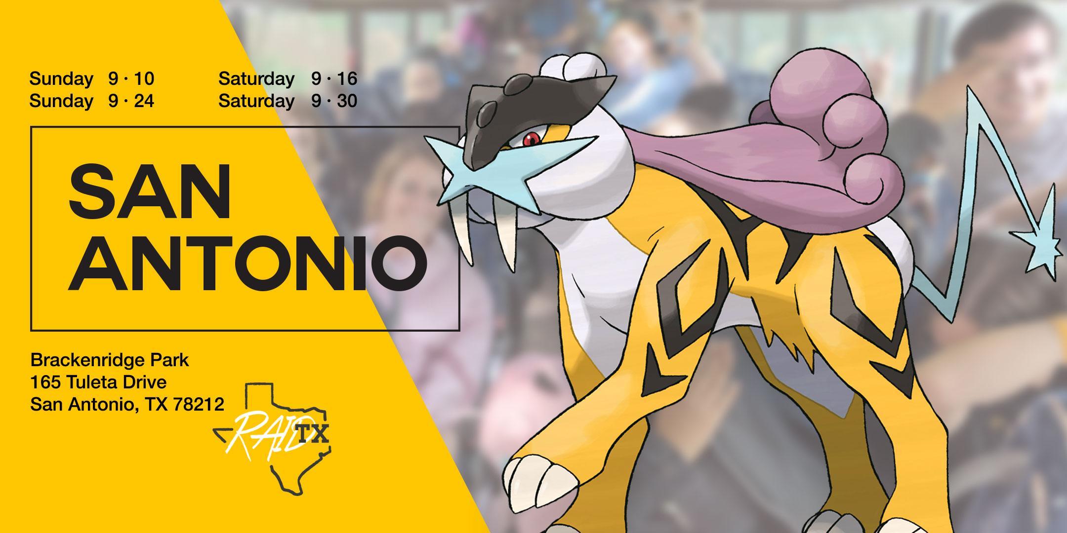 Raikou Raid Party Bus! – San Antonio, TX