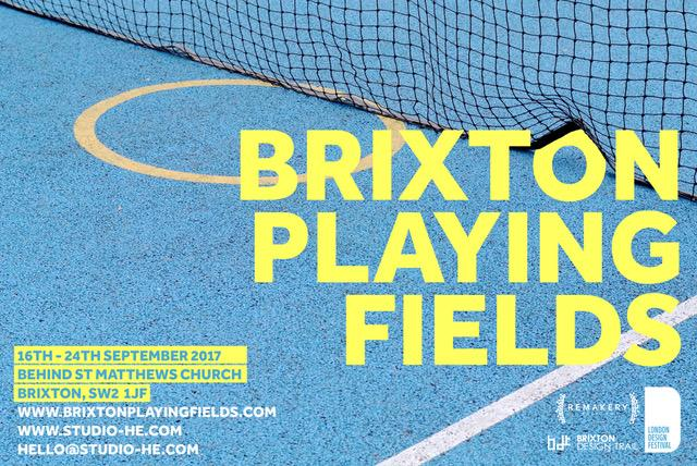 Brixton Playing Fields / London Design Festival 2017