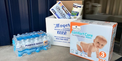 Hurricane Harvey Relief Donation Drive - Moyer & Sons Moving & Storage