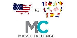 Europe vs USA @ MassChallenge - Startup Elevator Pitch...