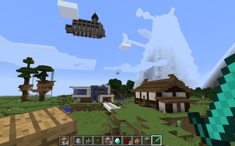 Morning Minecraft