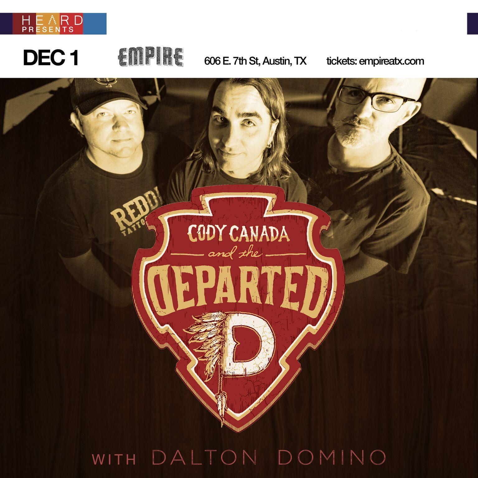 Cody Canada with Dalton Domino