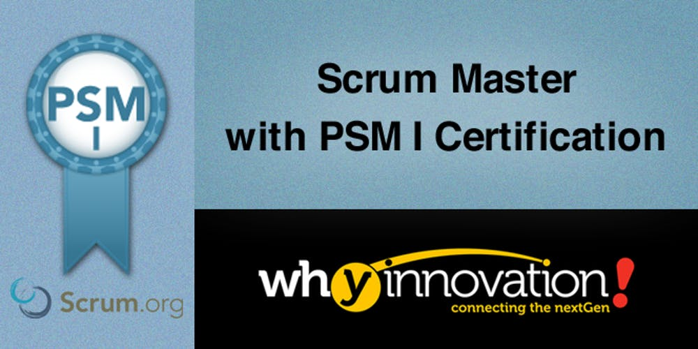 Scrum Master With Psm I Certification Hk Tickets Multiple Dates