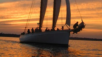 Sunset Sail on the Schooner Adirondack
