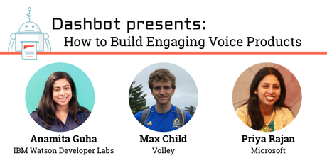 How to Build Engaging Voice Products tickets