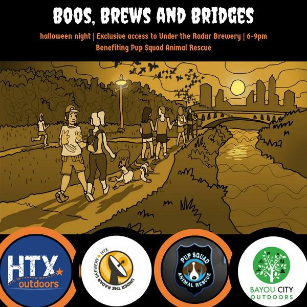 Boo, Brew & Bridges - Walk & Party by BCO & HTXO. Boo, Brew & Bridges - Walk & Party by BCO & HTXO