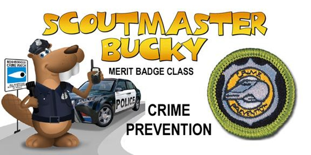 Crime Prevention Merit Badge Class 20171104 Saturday AM – Crime Prevention Merit Badge Worksheet