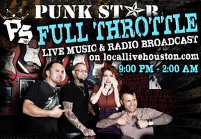Full Throttle Live Music & Radio Broadcast featuring