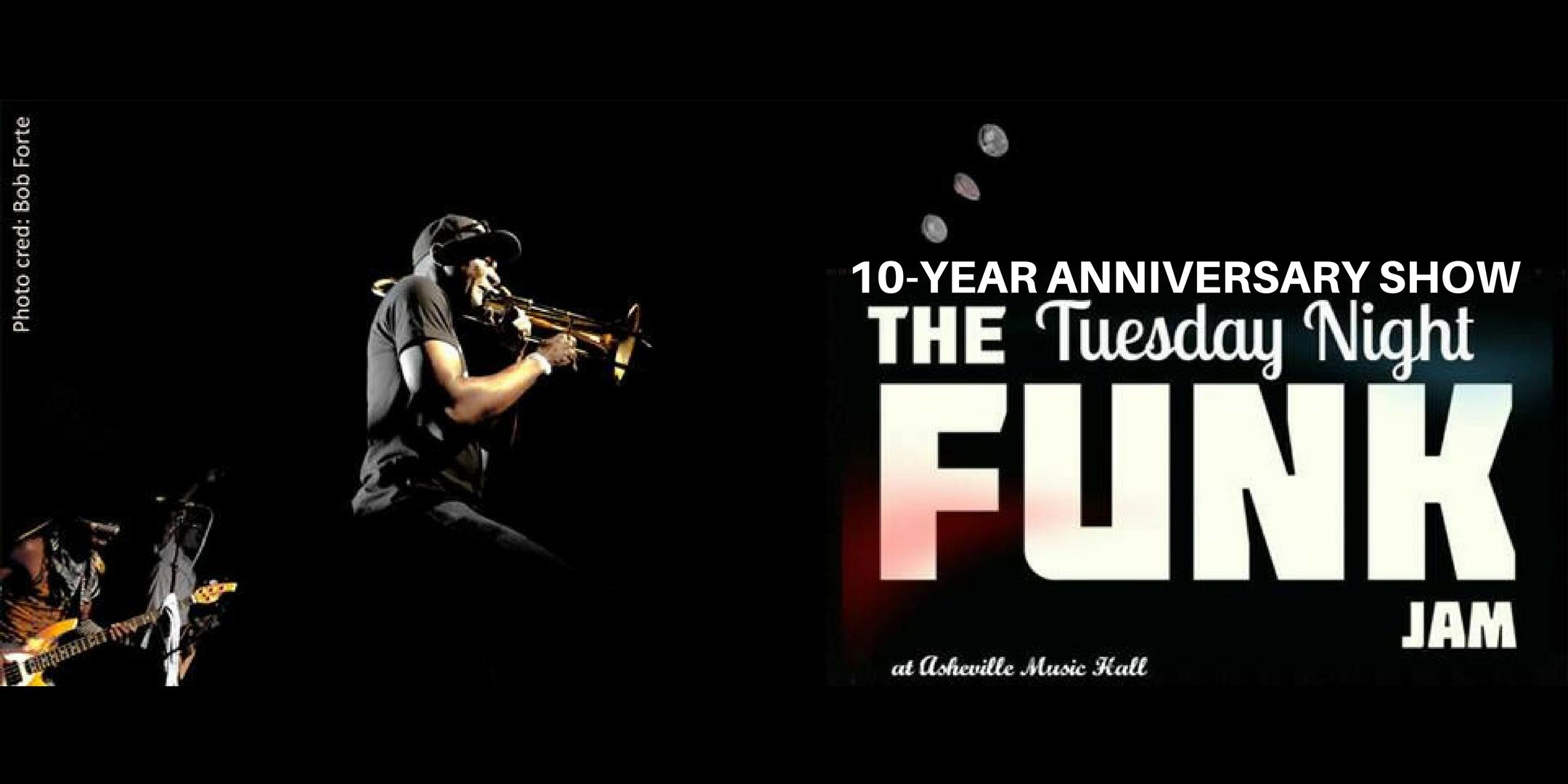 10-year Anniversary of Tuesday Night Funk Jam