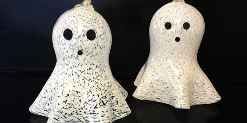 Ghostly Halloween Ornaments