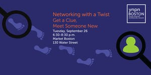 Networking with a Twist: Give a Clue, Meet Someone New