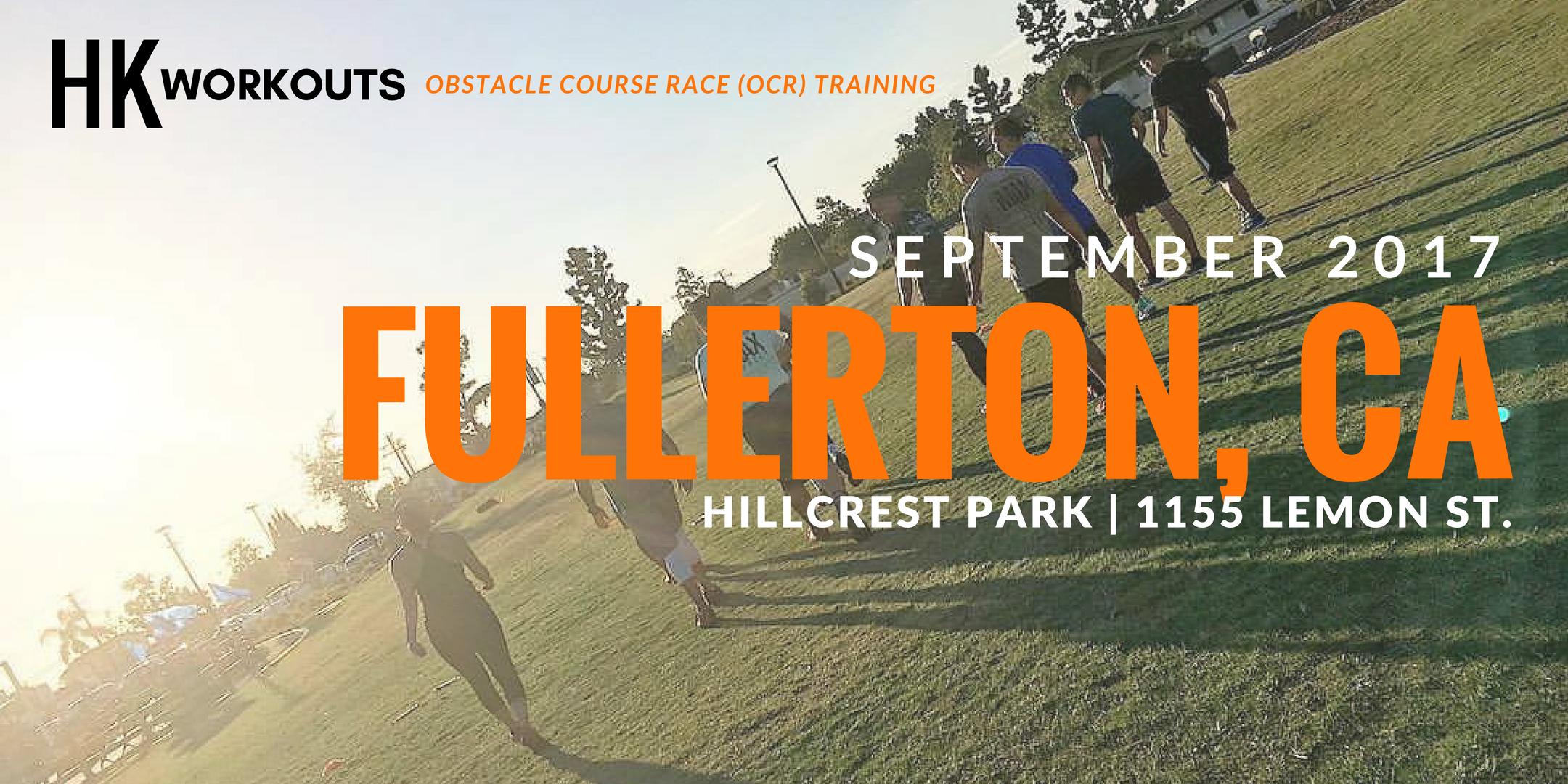 HARDKOUR WORKOUTS - Fullerton, CA // 09.28.17