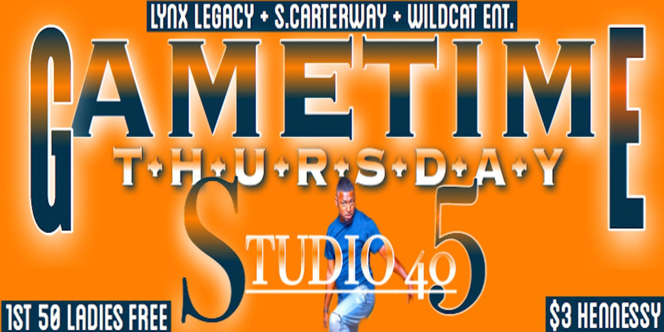 GAMETIME Thursdays @ Studio 405