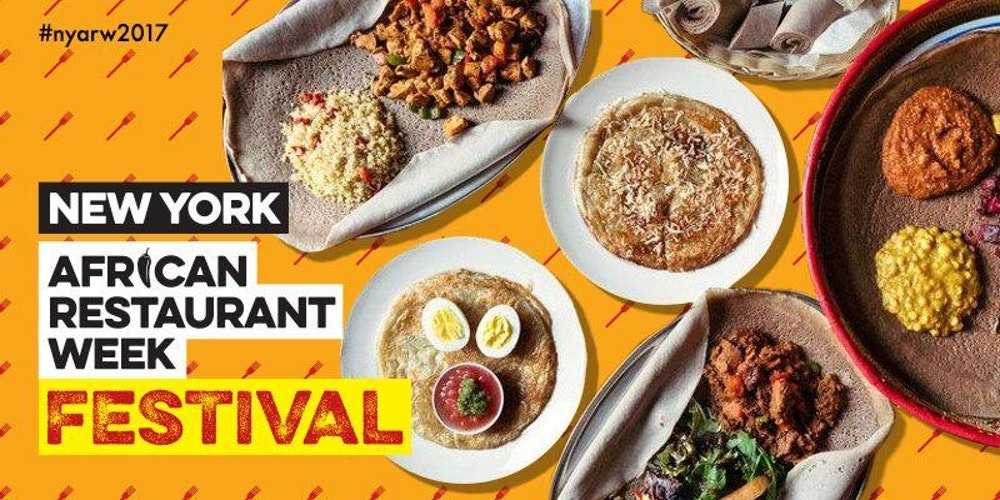 New york african restaurant week festival tickets sun for African cuisine nyc