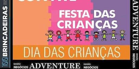 Organização Cotação Festa Dia Crianças ingressos