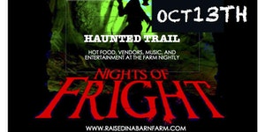SIX NIGHTS OF FRIGHT 2017 - OCT 13, 14, 20, 21, 27, 28 and ...