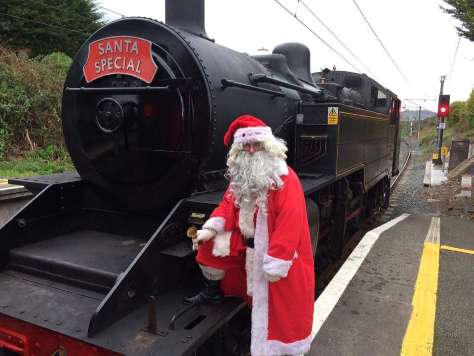 Santa Specials - Train 1 - Steam