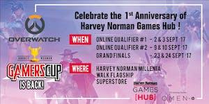 Overwatch Harvey Norman Gamers Cup 2017 - Qualifiers 1