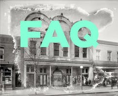 FAQ - Miracle Theatre