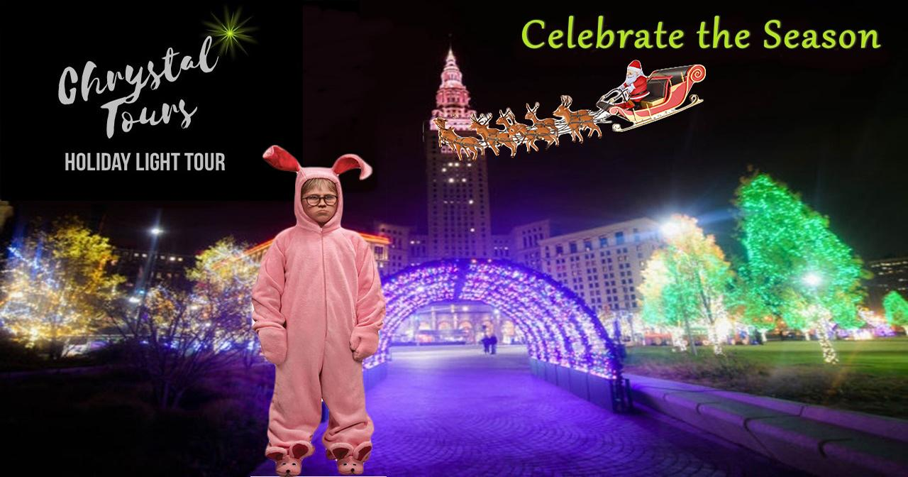 Family Friendly Holiday Light Limo Coach Tour