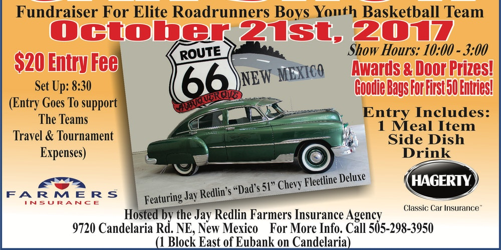 Car Show And Fundraiser Tickets Sat Oct 21 2017 At 1000 AM