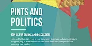 Pints and Politics Ward 3