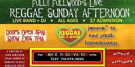 Fully Fullwood's Live Reggae Sunday tickets