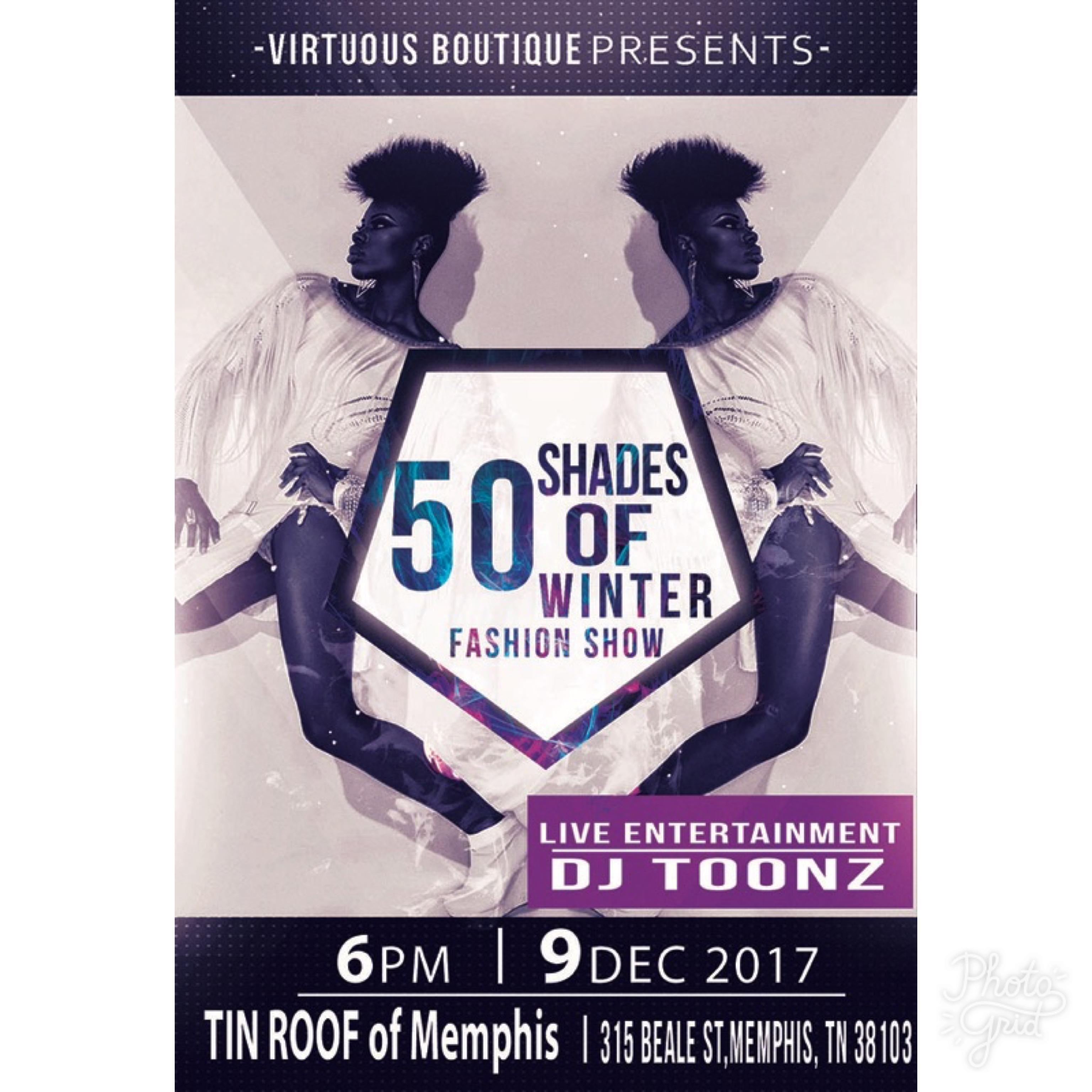 50 Shades of Winter Fashion Show