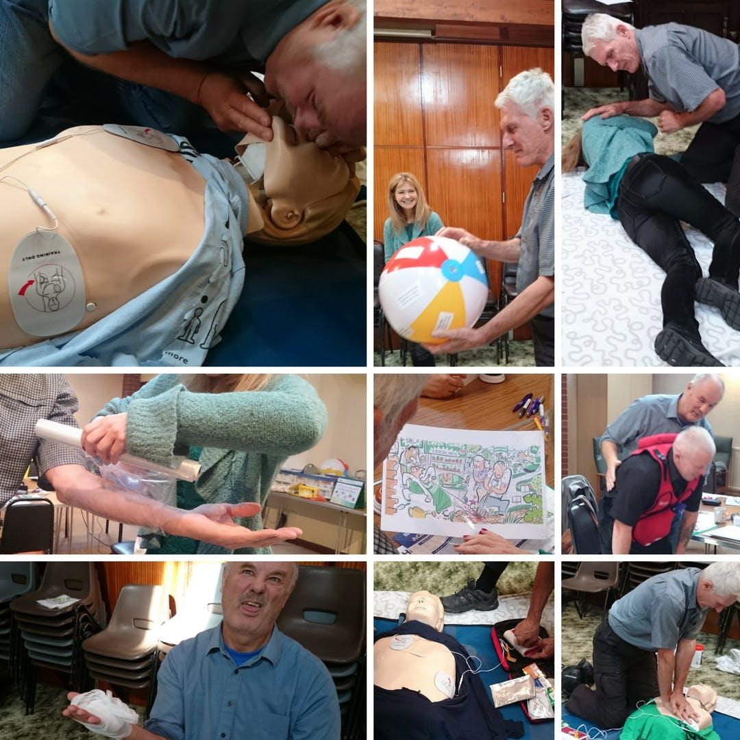 QA Level 3 Award in Emergency First Aid at Wo