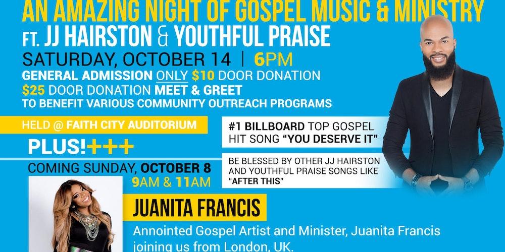 Lyric after this lyrics jj hairston : J.J Hairston & Youthful Praise Tickets, Sat, Oct 14, 2017 at 6:00 ...